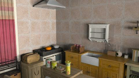 woodd - Rustic - Kitchen - by mogly