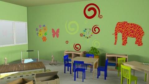 paud rusa - r1v1 - Country - Kids room - by aryantono