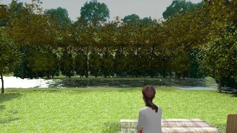 Lake - Modern - Garden - by Coco_Juno