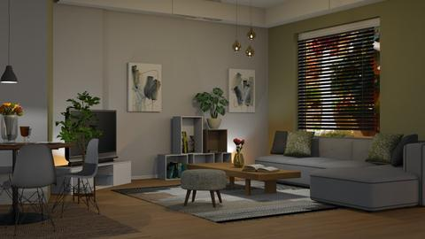 grey - Living room - by sirtsu