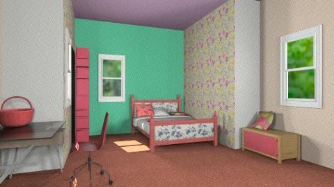 Chambre De Mahay - Bedroom - by Karminn A