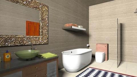 Modern Bathroom 1 - Retro - Bathroom - by tillsa98