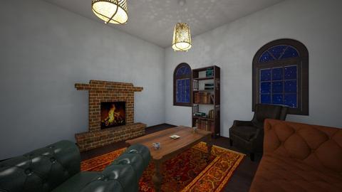 Cottage Living room_Home2 - Living room - by Itsjustme1
