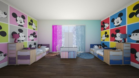 Mickey mouse - by MarySharif