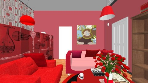 my dream house take 2 - Living room - by dont know