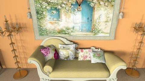 my paradise - Living room - by nitajolly