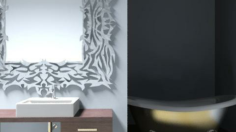 baño hotel - Glamour - Bathroom - by mariloli