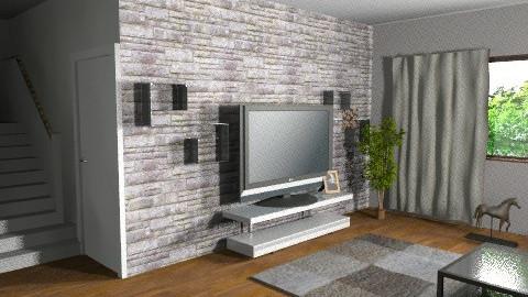 living 5 - Modern - Living room - by lucian_serpi