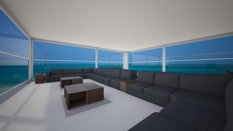 shamal area villa suhail  - Living room - by mohamedaly