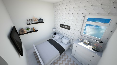 Tumblr af - Modern - Bedroom - by El2002