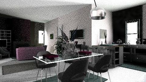 The salom - Modern - Living room - by juliacavallaro