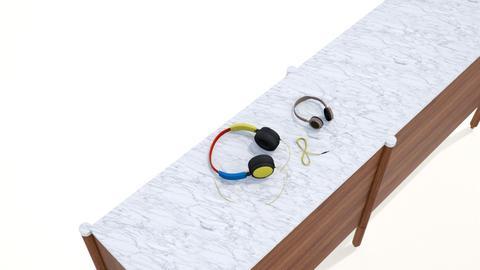 headphones - by hauser