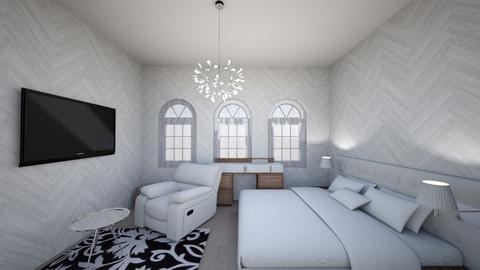 modern rich bedroom - Modern - Bedroom - by imtheschoolgirl