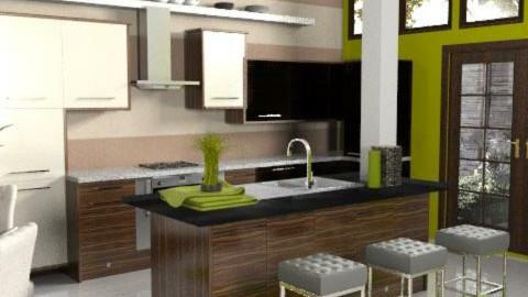 Cubrick - Modern - Kitchen - by dominicjames