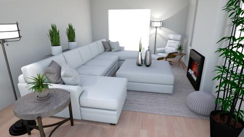 LS for Michael and Alex - Living room - by TheDutchDesigner