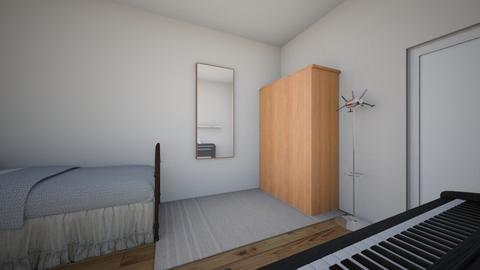 habitacion  - Modern - by jacksonanamich