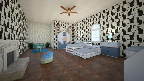 kids room - Living room - by mostafa farhan