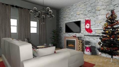 christmas - Living room - by Sanja Taukova