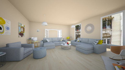 pastel apart #1 - Vintage - Living room - by franciss