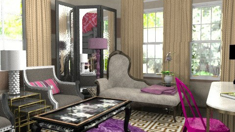 Glam it up! No.2 - Glamour - Living room - by MaryFerrisFDC