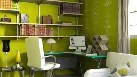 Green Office - Modern - Office - by AlexKarm