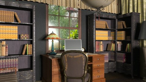 an office - Classic - Office - by chania