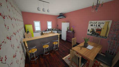 Witch Kitchen - Eclectic - Kitchen - by streetratgardener