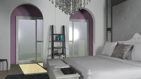 Boutique Bedroom - Glamour - Bedroom - by anabanana54