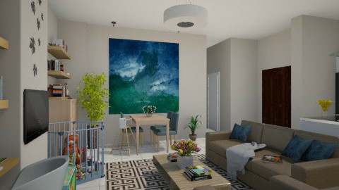 For PanosZ 1 - Eclectic - Living room - by Theadora