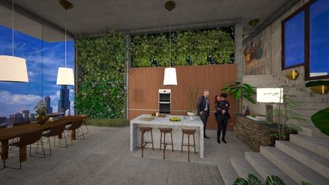 Urban living walls - Kitchen - by Marina Struwig