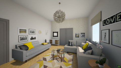 future living room_new1 - Eclectic - Living room - by Andrea_