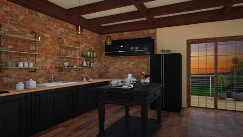 558 - Kitchen - by Jade Autumn