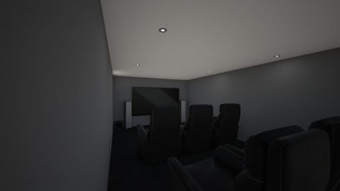 Home Theater w Table  - by Tugaevo