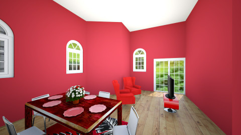 Red House  Part 1 - Living room - by Wesley Clark