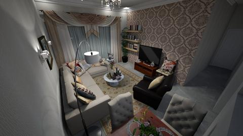 mr aziz 2 bedroom living - Living room - by lorenz