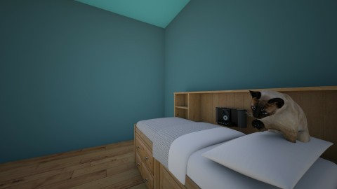 sfsf - Bedroom - by Gerlinda Scholten
