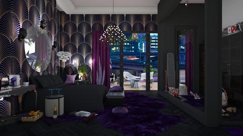 black and elegant - by nat mi