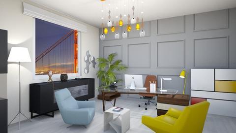 bureau - Office - by Btissam Amnad