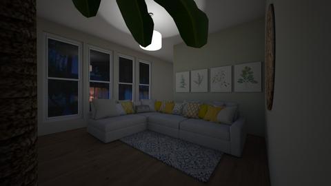 Gardners Space - Living room - by MagiC_FetuS