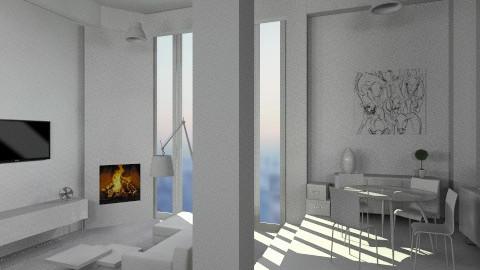 Hyperclinical 1 - Minimal - Living room - by mirkaaa