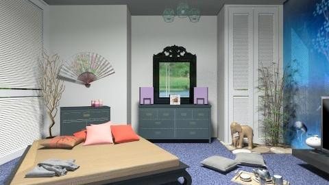 Oriental modern - Eclectic - Bedroom - by milyca8
