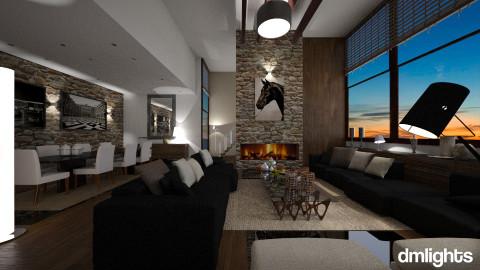 senh - Living room - by sentest