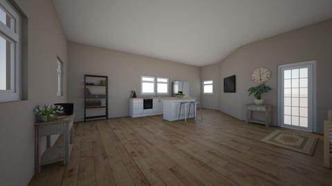 Mudroom and Kitchen Space - Kitchen - by ellarowe224