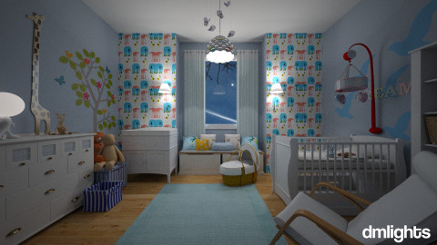 Baby Rowan - Kids room - by nina50