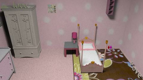 pink - Glamour - Kids room - by 89dudes