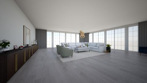 Contemporary living space - Living room - by EllaWinberg