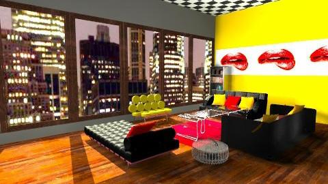 NYC Lounge - Modern - Living room - by TheAlgonaGirl