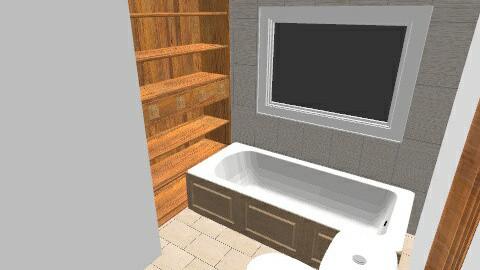salle bain 2 - Rustic - Bathroom - by mjmcgowan