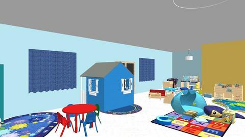 bebe chambre - Kids room - by meriemebm
