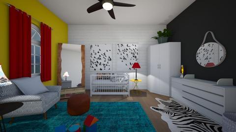color - Kids room - by dena15